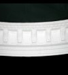 Curved Dentil and Bead Cornice